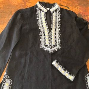 Tory Burch tunic embellished